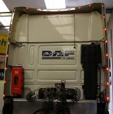 Daf Xf Super Space Cab Interior Xf 105 Wind Kit Strips