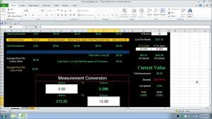 Jewelry Inventory Spreadsheet Tracking Silver U0026 Gold With Excel Spreadsheet Youtube