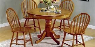 solid wood pedestal kitchen table round wood kitchen table hangrofficial com
