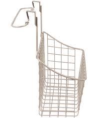 Cabinet Door Basket Cabinet Door Basket With Towel Rail In Cabinet Door Organizers