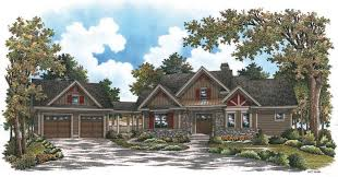 narrow lot house plans detached garage home act