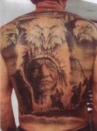 black and grey indian tattoo back piece by john williams tattoonow