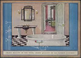 Crane Bathroom Fixtures 1925 Crane Plumbing Fixtures Sophisticated 1920s Bathroom