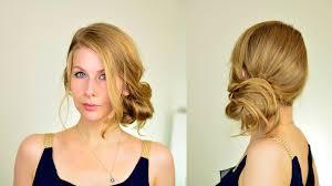 low side bun updo tutorial julianne hough inspired twirlerica