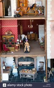 Dolls House Kitchen Furniture Interior Of Dolls House Interior Dolls House Model Replica