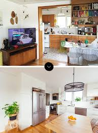 before and after sabrina u0027s open plan game changer renovation