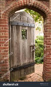 Secret Garden Wall by Open Door Secret Garden Stock Photo 338531288 Shutterstock