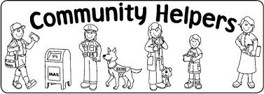 Community Coloring Page community helper coloring pages delightful design community helper