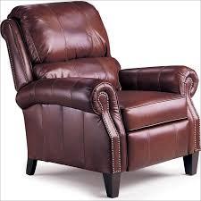 hogan high leg leather recliner 2671