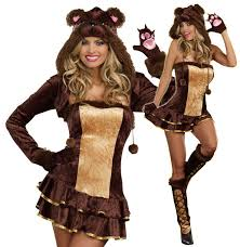 Halloween Costumes Figured Women Cute Womens Teddy Bear Halloween Costume Teddy Bear