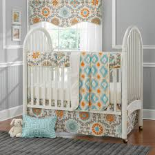 Mini Crib Sets Lil P S Bedding Liz Roo Damask And Ikat 4 Crib Bedding