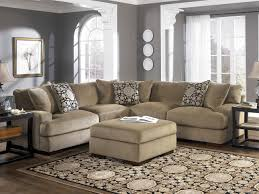 Interior Microfiber Sectional Chaise Microsuede Sectional - Microfiber living room sets