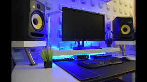 minimalist computer speakers minimalist bedroom studio desk ikea hack guide youtube