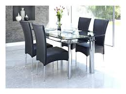 round table with chairs glass top dining table set 4 chairs glass round table with crafted