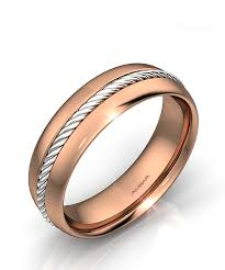 gold wedding band mens men s white and yellow gold wedding band