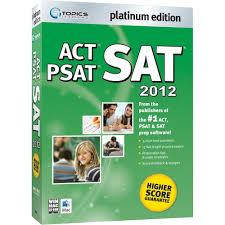 amazon com sat act psat 2012