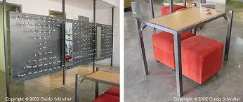 Metal Reception Desk Schindler Metalworks Eye Works Reception Desk Display Panels