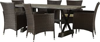 7 piece cassandra patio dining set u0026 reviews joss u0026 main