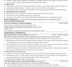 data scientist resume data scientist resume computer science and resume 4