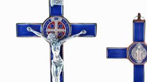 st benedict crucifix st benedict enamel crucifix