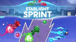 pj masks starlight sprint ipad game disney junior family