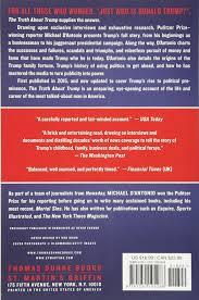 the truth about trump michael d u0027antonio 9781250105288 books