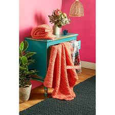 better homes and gardens ls mighty easy knit or crochet kit coral better homes garden shop