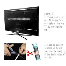 tv backlight kitcomputer case 5050 2m rgb usb led strip light with