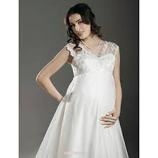 maternity wedding dresses uk a line princess maternity wedding dress ivory court v neck