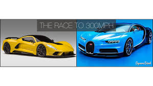 bugatti chiron supersport the race to 300mph u2013 bugatti chiron vs hennessey venom f5 drivetribe