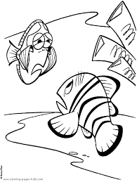 finding nemo coloring pages coloring pages kids disney