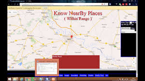 Map Javascript Google Maps Javascript Api Tutorial Search And Find Nearby Places