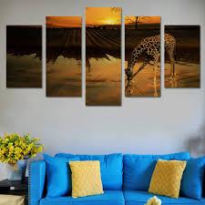 Giraffe Home Decor by Online Get Cheap Giraffe Wall Art Aliexpress Com Alibaba Group