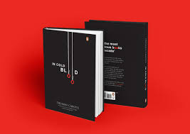 in cold blood penguin student award book design on behance