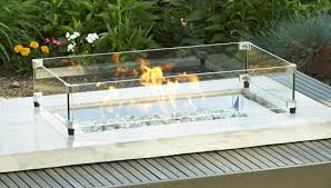 Firepit Glass Awesome Pit Tables Woodlanddirect Outdoor Fireplaces