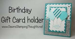 Birthday Card Holder Birthday Gift Card Holder With Party Pants St Set From Stin