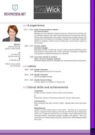 newest resume format resume template updated resume format free career resume template