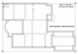 Slab Home Floor Plans Foundation Layout