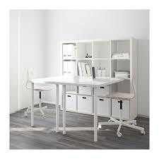 bureaux blancs kallax agencement bureau blanc bureaux blancs ikea et combinaisons