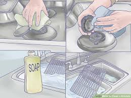 How To Clean A Faucet How To Clean A Kitchen With Pictures Wikihow