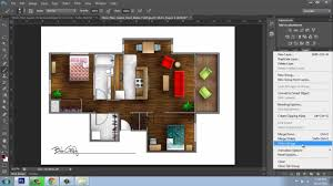adobe photoshop cs6 rendering a floor plan part 6 finishing
