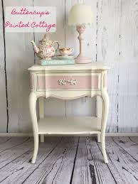 sold pretty in pink darling french provincial nightstand painted