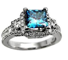 blue diamond wedding rings style we a princess cut diamond wedding bands can also be
