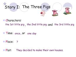 reading telling story basic elements story