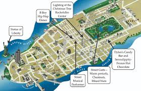 tourist map of new york sightseeing map of new york major tourist attractions maps