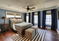Modern Blue Bedrooms - modern blue bedroom ideas with white platform bed home interior