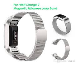 magnetic clip bracelet images Magnetic milanese loop metal band for fitbit charge 2 charge2 jpg