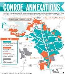 Austin City Limits Map by Conroe Expands City Limits Tax Base Through Annual Annexation