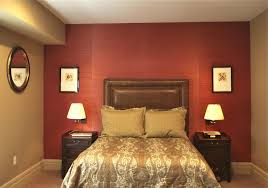 bedroom popular decorating red small rooms also wall painted