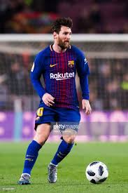 Lionel Messi Leg Lionel Messi Of Fc Barcelona Conducts The During The Copa